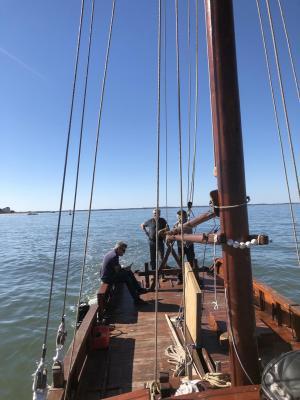 Retour au port après entretien